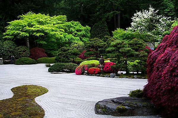 Японские сады а Портленде