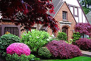Великолепные цветники Портленда