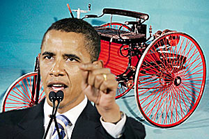 Зачем-то Обама публично проявил свое невежество, начиная с истории автопрома