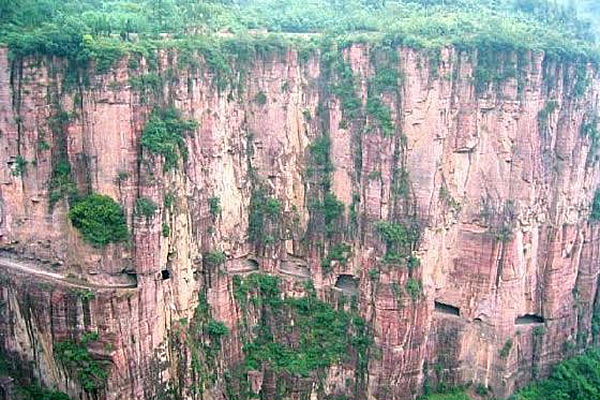 Гуалиньская тоннельная дорога, Китай