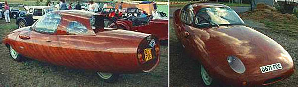 Автомобильный кузов с деревянным покрытием - www.darkroastedblend.com