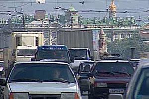 Москва - движение плотное