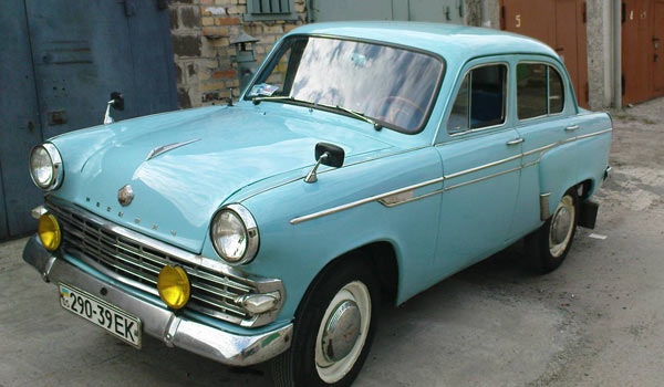 Москвич - 403 - любимый автомобиль начала 60-х