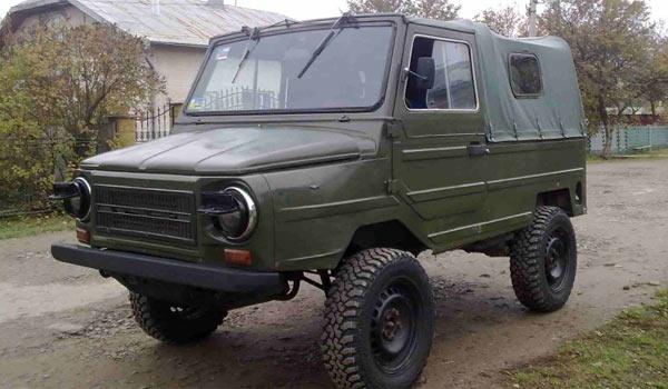 Луцкий вариант модернизации - ЛуАЗ-3102