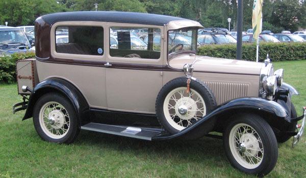 Ford A Tudor Sedan, 1930 год