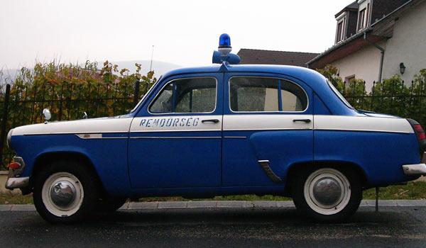 Венгерский полицейский тюнинг советского М-403ИЭ