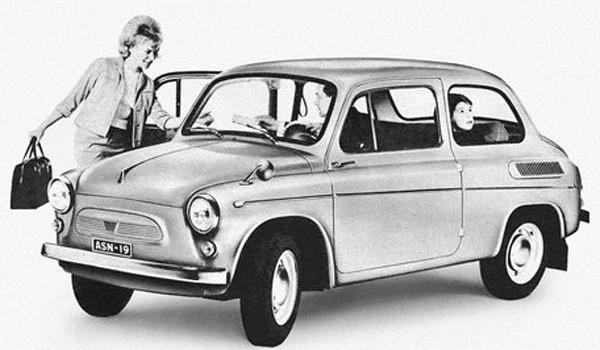 Реклама ЗАЗ-965 в Европе