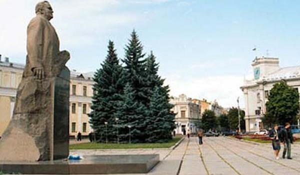 Житомир в советских календарях