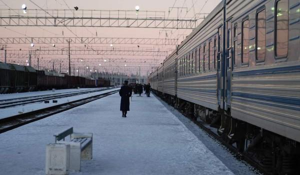 Перрон вокзала в Петрозаводске (фото: jeffinmoscow).