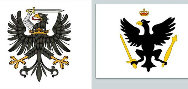 Флаг королевства Пруссия.