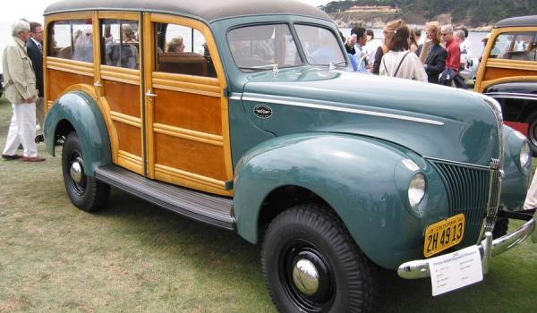 Ford Marmon Herrington 4WD Woody - 1940.