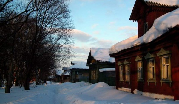 В Переславле-Залесском нас встретила настоящая русская зима.