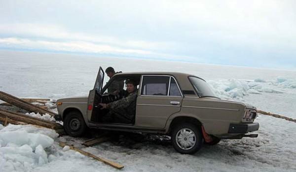 Спасение нашей Лады. Поселок Байкальское. 2010 год.