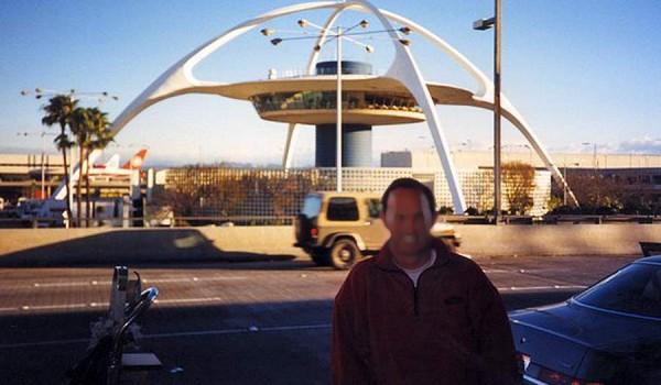 Аэропорт LAX в Лос-Анджелесе. 1990 год.