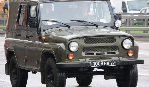 УАЗ-469.