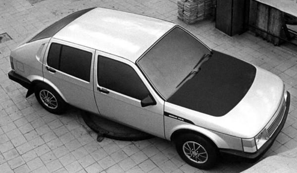 Прототип «Москвич» серии С-1, 1975 год.