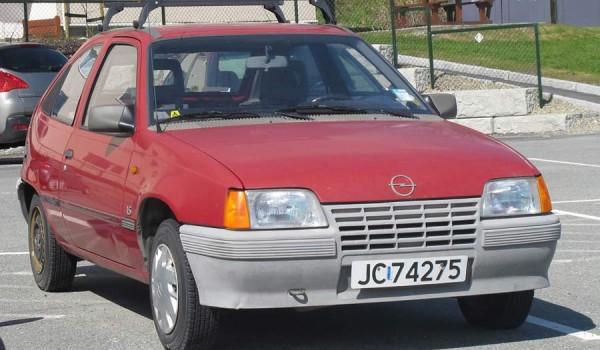 Opel Kadett 5-door (E) (Германия 1984–91).