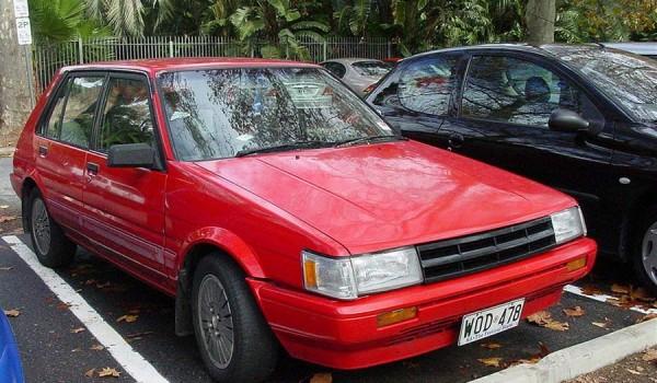 Toyota Corolla AE82 (Япония, 1984-87)