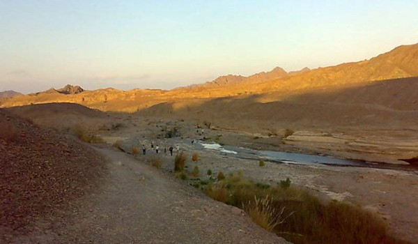 В поисках реки. Хаттха. ОАЭ. 2011 год.