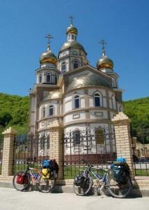 Православный храм. Сочи. 2004 год.
