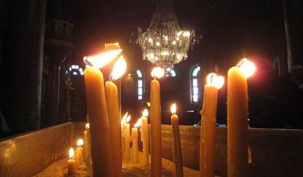 В гости к коптским христианам в Каире. Каир. 2011 год.