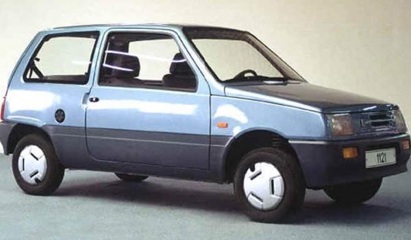 ВАЗ-1121 – в 1991 году так обозначалась опытная рестайлингованная «Ока».