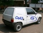 СеАЗ-11116-010-52 – коммерческая модификация «Оки» с кузовом типа фургонет.