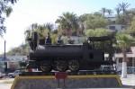Какой-то исторический паровозик. Санта-Розалия. Мексика. 2011 год.