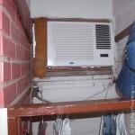 Так выглядит кондиционер изнутри в номере отеля Ana. Санта-Розалия. Мексика. 2011 год.