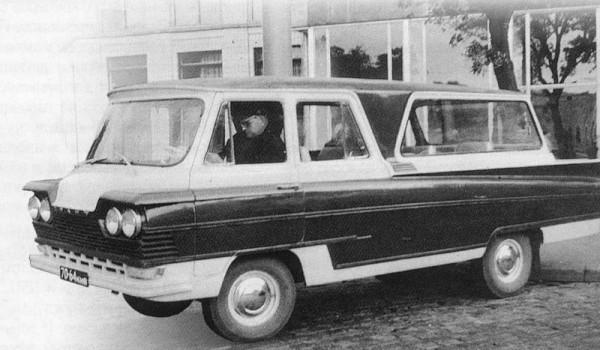Микроавтобус «Старт». 1963 год.