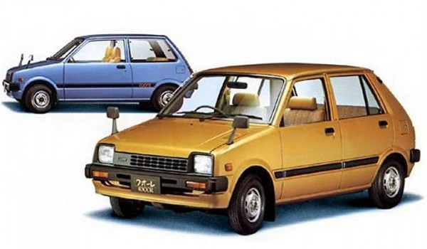 Daihatsu Cuore (1980 – 1985 гг.). Япония.