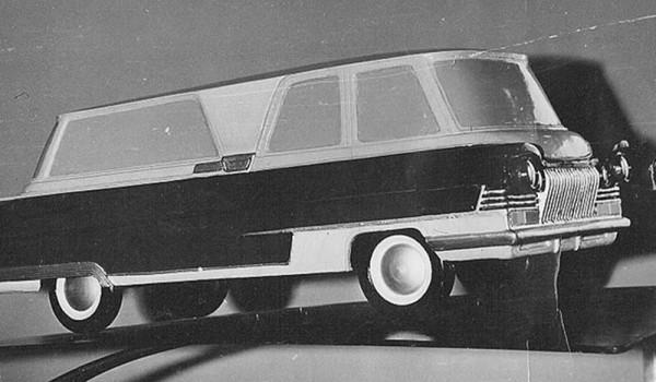 Макет кузова автомобиля «Старт».