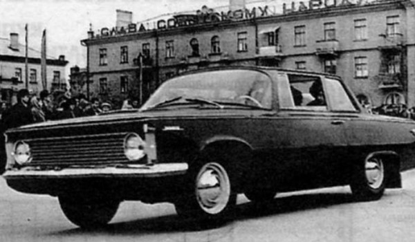 Легковой автомобиль «Заря» («Новинка») 1966 г.