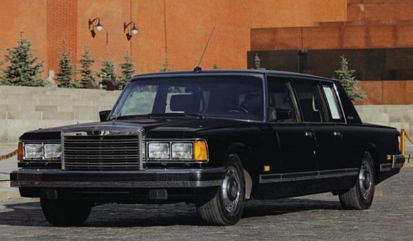 Последний советский лимузин ЗиЛ-41047.