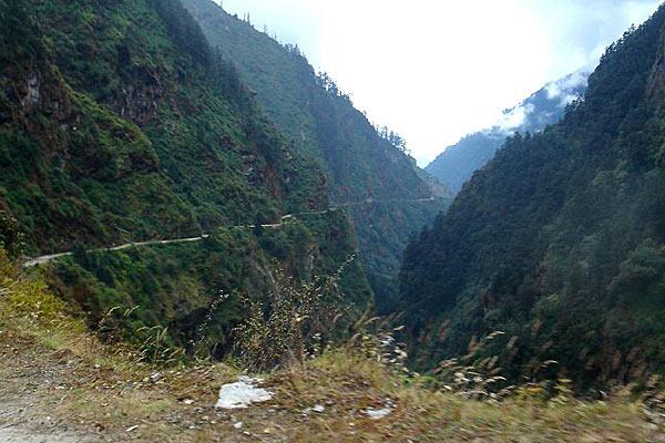 Дорога из Тибета в Непал