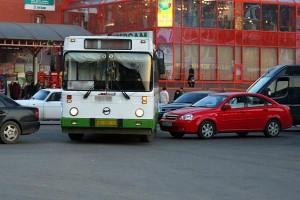 Вот так иногда ездят автобусы