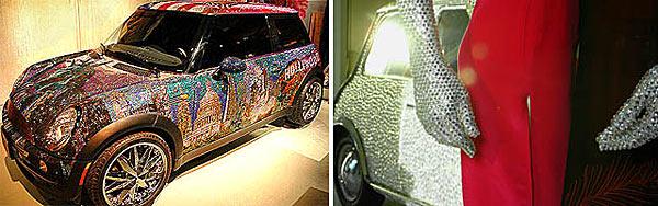 Кузов Mini, украшенный миллионом кристаллов от Swarovski - www.darkroastedblend.com