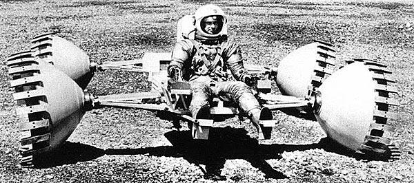 Lunar Sortie Vehicle (LSV), 1971