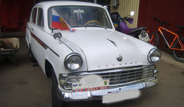 Экспортный Москвич-403 ИЭ