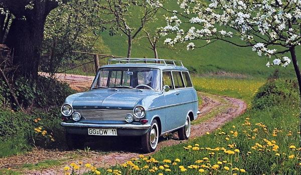 Opel Kadett A  1962 - 1965 гг