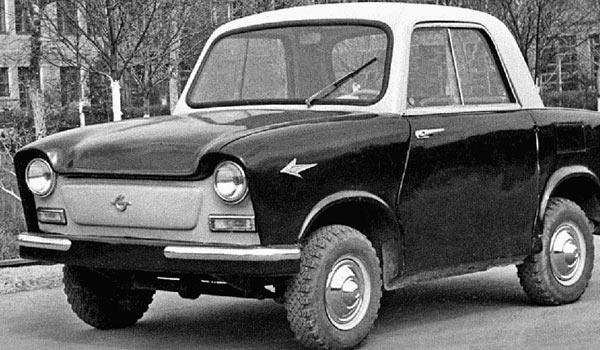 В 1960 году был создан «концепт-кар» СМЗ С-4Б