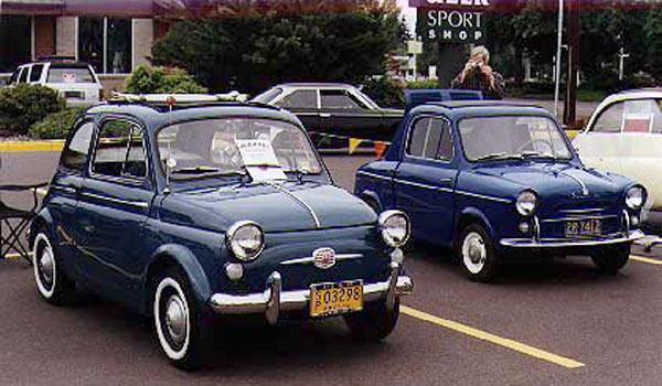 Vespa-400 1959 г