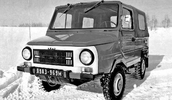 Фейслистинг вместо нормальной модернизации ЛуАЗ-969
