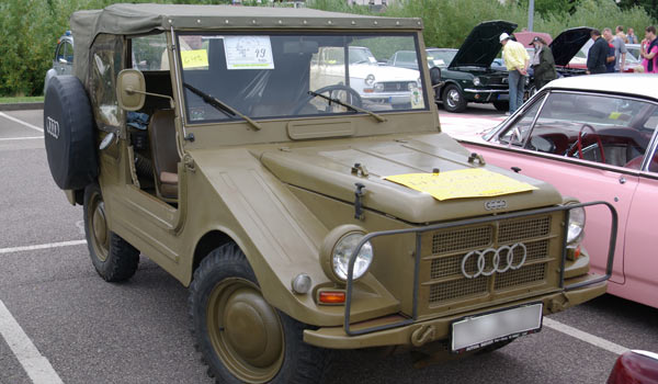 DKW Munga, Германия, 1954 - 1968 гг