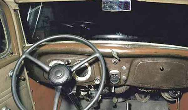 Cалон ГАЗ-М1 внутри