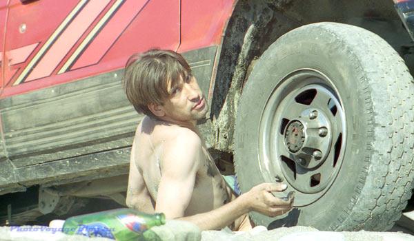 Ремонт на пляже. Кубань, 1997 год