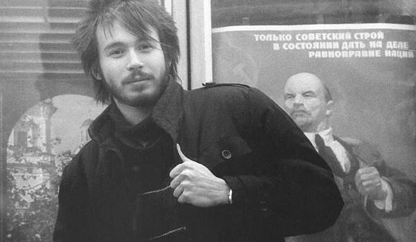 Константин Андреев и Ленин. Москва. 1987 год.