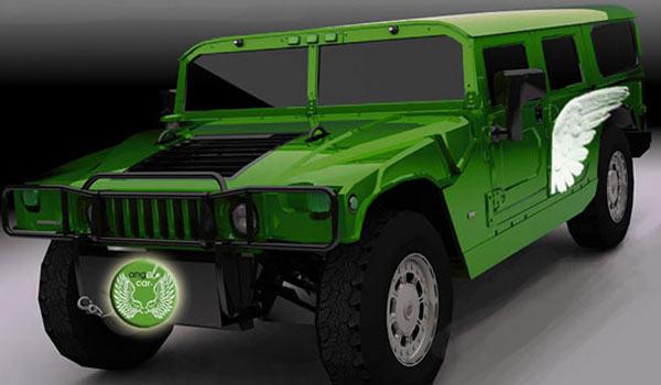 Hummer на электроприводе