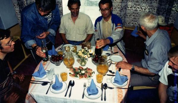 Гостеприимный обед в Шелехове