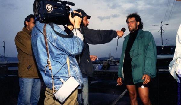 Иркутский порт - интервью у немца, 1994 год